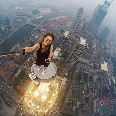 Russian Daredevil Takes the Most Dangerous Selfies Ever
