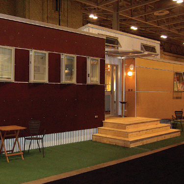 MiniHome trailer sustainable living