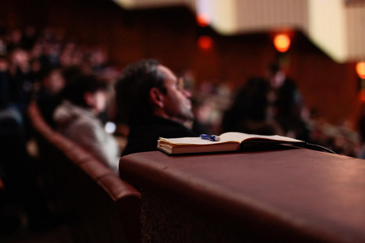 Behind every great public speaking event is a copywriter.
